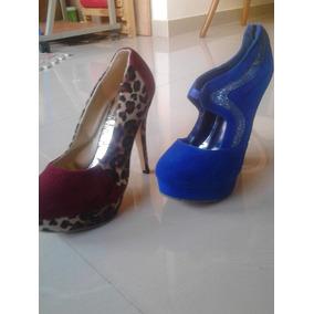 Zapatos Altos De Tacon Talla Talla 38