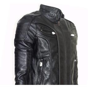 Jaquetas De Couro Masculino De Luxo
