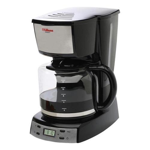 Cafetera Liliana Smarty AC964 negra y gris 220V