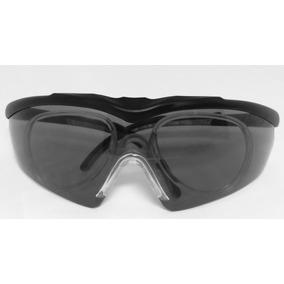 Armacao Oculos Seguranca P/ Lente De Grau Msa Gull Fume