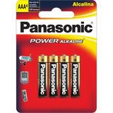 Pilas Panasonic Alcalina Aaa X4 Lr03xab/4be