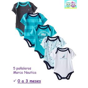 Ropa Bebé Pañaleros Nautica Para Niño Tonos Turquesa