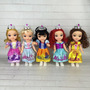 Disney Princesa Frozen Sofia Ariel Pequena Sereia Cinderela