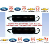 Resortes De Bisagras Capot: Ford 100,c10-c30,dodge,caprice
