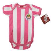Pañalero Chivas Rosa Futbol Original - Ropa De Bebe