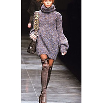 Sweater Pullover Vestido Poleron Varios Modelos Tejido