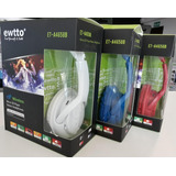 Auricular Inalambrico Con Bluetooth Radio Fm - Ewtto