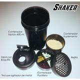 Mezclador De Proteina (shaker), Suplementos, Pastillas, Gym