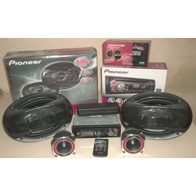 Reproductor Pioneer+cornetas Pioneer+ Tweeter Lanzar
