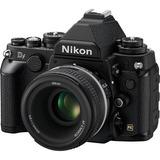 Nikon Df Kit Con Lente 50mm F/1.8 Negro Jamas Usada