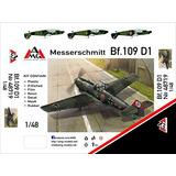 Messerschmitt Bf-109 D-1 Placa Modelo De Plástico 148 Arsen