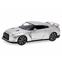 Nissan Gtr R35 Velozes E Furiosos Jada Toys 1:24 Prata 97212