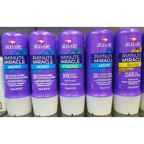 Aussie 3 Minute Miracle Shine/smooth/color Tratamento 236ml