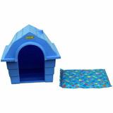 Casinha Dog House Gg - Azul