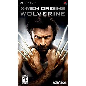 Jogo Em Umd Lacrado X-men Origins Wolverine Pra Psp Portatil