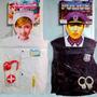Disfraz Disfraces Para Niños Policia, Bombero, Enfermera