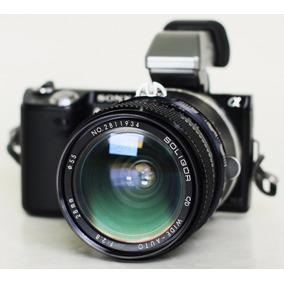 Lente Sony Nex Nikon 28mm F2.8 Angular Luminoso Japón 1972
