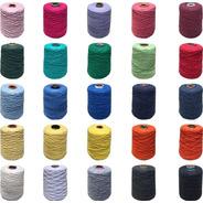 Barbante Croche Colorido Número 6