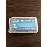 Memory Stick Pro Magic Gate Sandisk 512mb 512 Mb Nueva