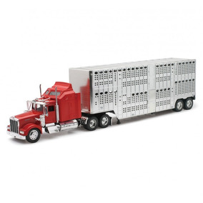 Trailer Kenworth W900 Ganadero Escala 1:32