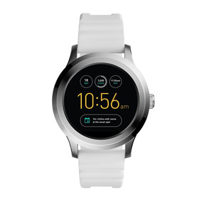 Smartwatch Caballero Fossil Founder Ftw2115 Color Blanco