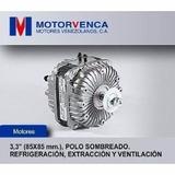 Ventilador Motorvenca De 10w 110