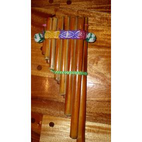 Sicus Zampoñas De Bambu De 13 Tubos Artesanal Flauta Norte