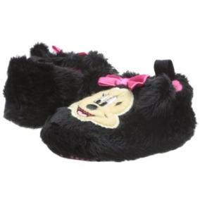 Disney Pantuflas Minnie Mouse Originales Bebé Niña 3-6 Meses