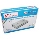 Case Externo Disco Duro Crystal Cy-s3502 (sata)