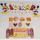 Candy Bar Personalizado Stickers Mickey Disney