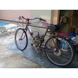 Bicicleta Antiga Motorizada Vintage Retro 80cc Motor Beach