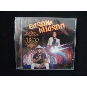 Cd Edson & Hudson - Faço Um Circo Pra Você Ao Vivo