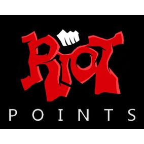 1050 Riot Points League Of Legeds Servidor Las