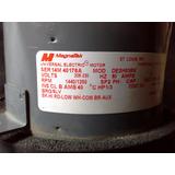 Motor Ventilador 1/3 Hp Doble Eje Marca Magnetek
