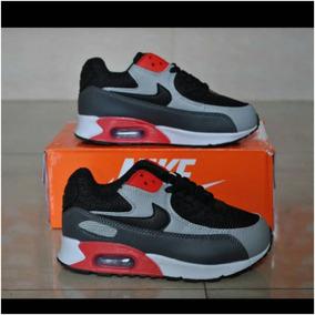 8802ca45d6c05 Jm18- Zapatos Nike Air Max 90 Niños Niñas 30 Al 35. Bs. 2.700