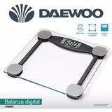Balanza De Baño Digital Daewoo- 150kg- Vidrio Templado