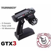 Rádio Turnigy Gtx3 Afhds 2.4ghz 3 Ch - Crawler On Road Drift