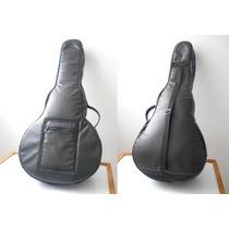 Forro Estuche Protector (cuero) Para Bandola Cuatro Guitarra