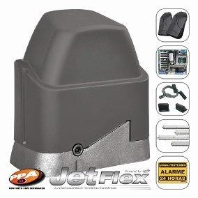 Kit Motor Portão Deslizante Dz Jet Flex Ppa 1/4 Rápido 4,5