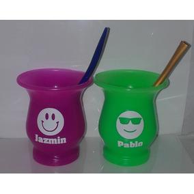 Mates Plasticos Personalizados Con Vinilo Souvenirs Regalos