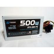 Fuente Noganet 550 W Pc Atx Ide Sata Cooler Stock Cba