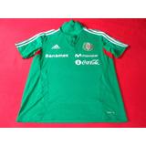 Seleccion Mexicana Camisa Polo De Viaje Futbol Soccer
