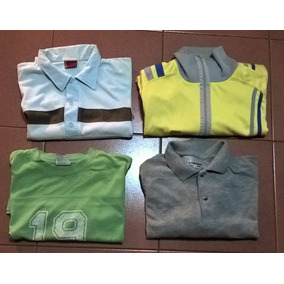 Ropa Hombre 2 Chombas Campera Remera X 4 T M