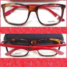 Maravilhoso Óculos Prada Spr9948 Preto-vermelho Oculos Sol Oakley De ... fb4d876853