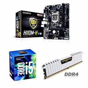Kit 7ª Geração - I5 7400+ Placa Mãe H110m-h Ddr4+ 8 Gb Ram