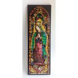 Hermoso Cuadro De La Virgen Guadalupe 11.5 X 34