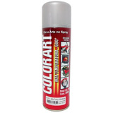 Tinta Aluminio Spray Alta Temperatura - 600º C - Colorart