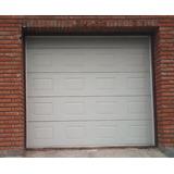 Portón Seccional Automático 2,54 Por 2x44 De Alto