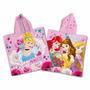 Ponchito Toalla Con Capucha Princesas Disney Original Piñata