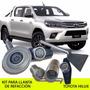 Kit Seguridad Llanta De Refacción Toyota Hilux - Promoción!!